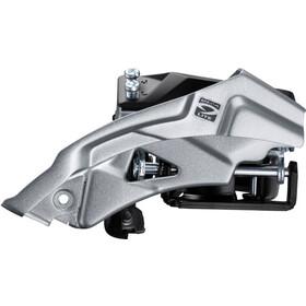 Shimano Altus FD-M2000 Dérailleur avant 3x9 vitesses Top Swing collier bas, black